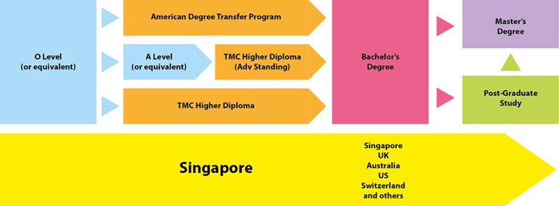 TMC là đối tác nhiều trường trên thế giới