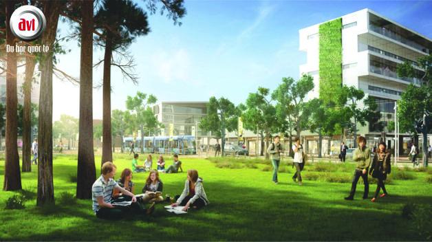 Khuôn viên Đại học công nghệ curtin