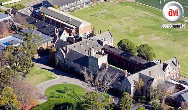 Toorak College sở hữu khuôn viên rộng đến 11 hecta