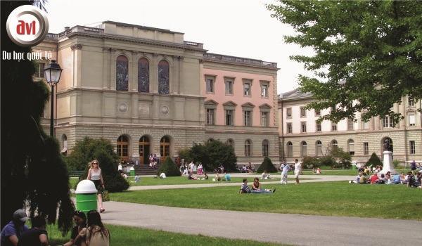 khuôn viên trường đại học geneve