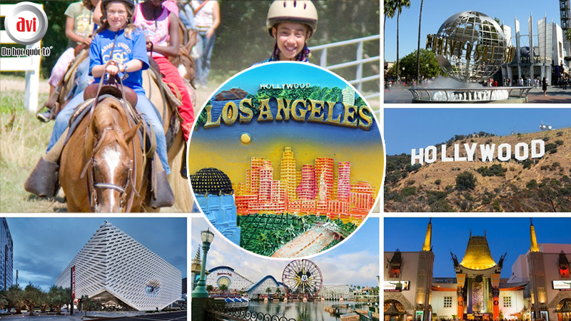 Du học sinh được tham gia nhiều hoạt động dã ngoại và mua sắm tại LA