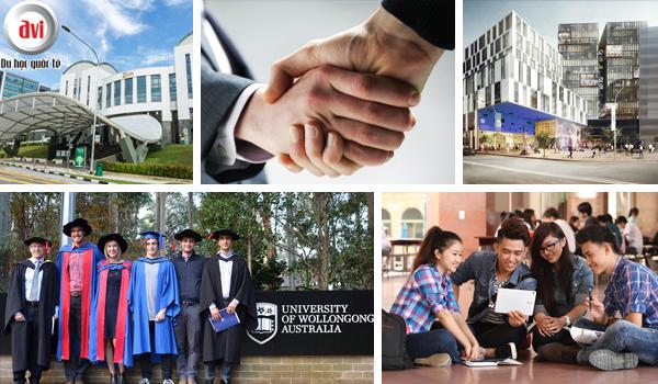 Liên kết giữa học viện quản lý Singapore - Đại học Wollongong đào tạo cử nhân