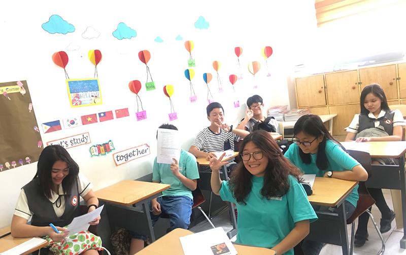 lớp học lý thú