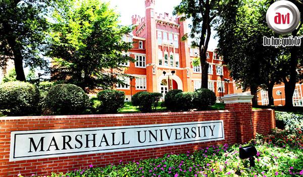 Đại học Marshall nằm tại thành phố nhỏ Huntington