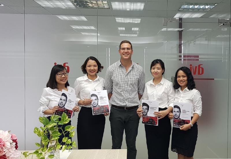 gặp gỡ Mr. Rep, ĐH Western Sydney, Australia sáng 1/10/2018 tại văn phòng Nhật Anh - AVI