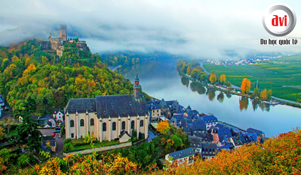 Mùa thu tại Đức