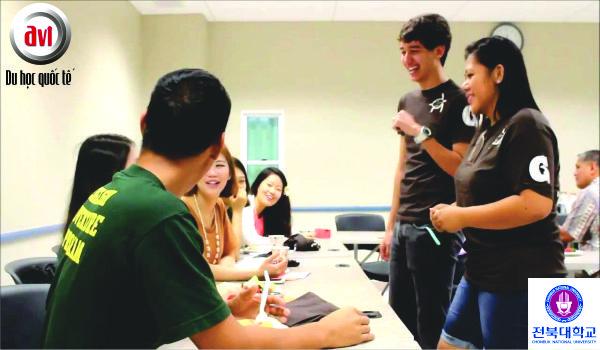 sinh viên trường đại học quốc gia chonbuk