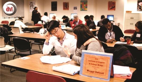 sinh viên trường cao đẳng cộng đồng seattle
