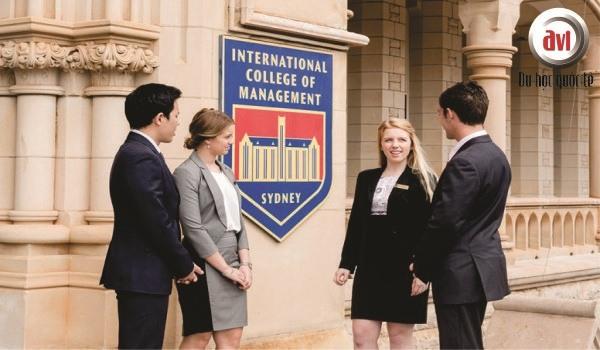 sinh viên trường icms australia