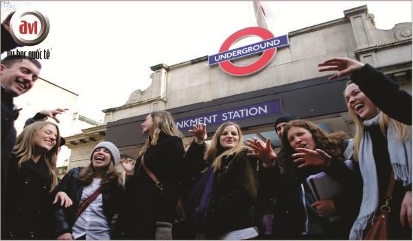 sinh viên trường Kings College London