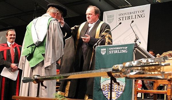 lễ tốt nghiệp trường Stirling