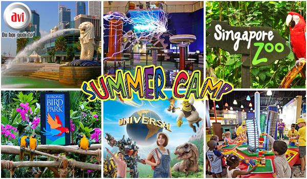 Chương trình di học hè có nhiều chuyến tham quan những địa danh nổi tiếng Singapore