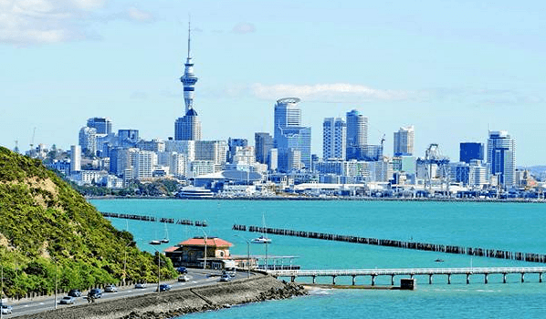 thành phố Auckland New Zealand