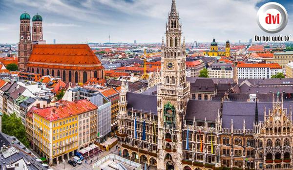 Munich - Thành phố của di sản kiến trúc