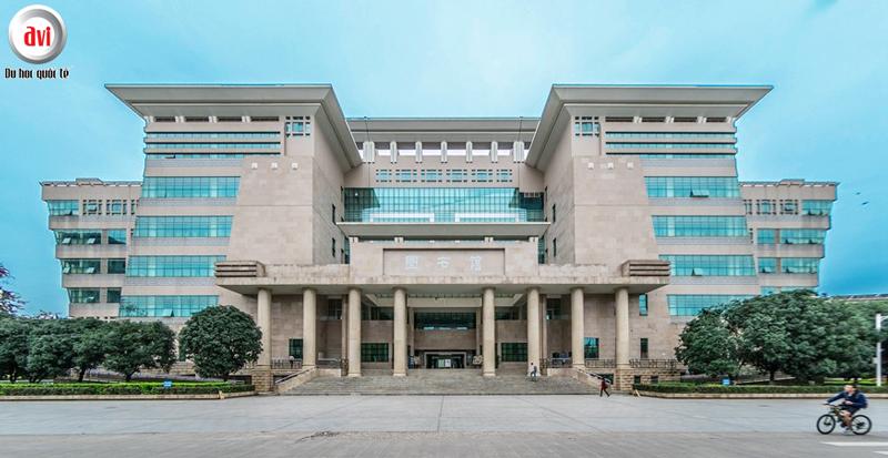 Thư viện trường Đại học Quảng Tây