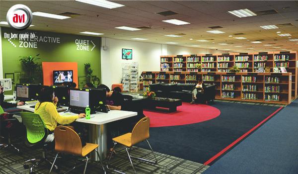 thư viện học viện sim