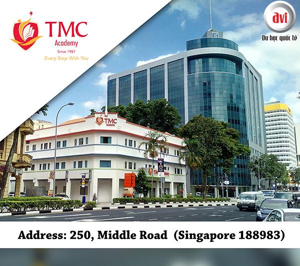 Khu học xá của TMC Academy tại Middle Road