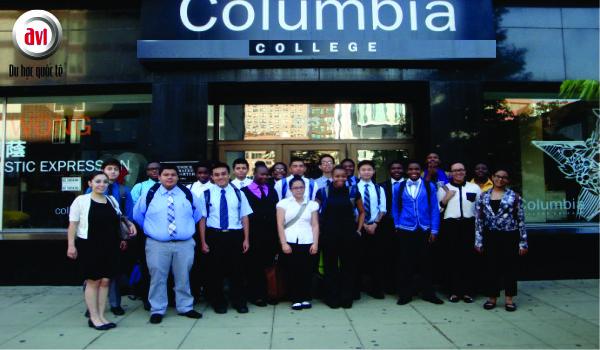Sinh viên trường cao đẳng columbia