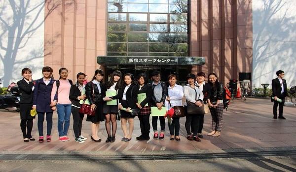 học viên trường nhật ngữ waseda