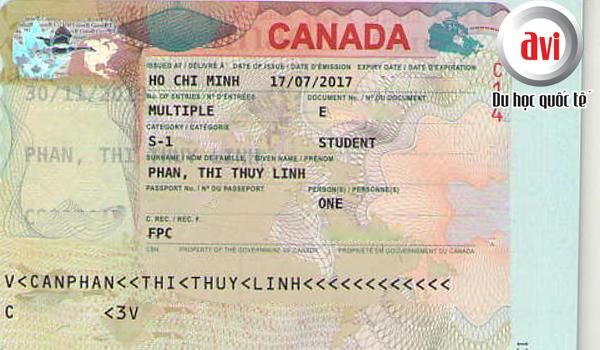 Visa du học Canada Phan Thị Thùy Linh