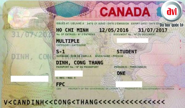 Visa Đinh công thắng