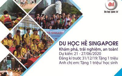 Du học hè Singapore 2020 – Khám Phá, Trải nghiệm, An toàn, Tiết kiệm!