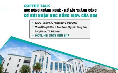 Coffee Talk: Định hướng ngành nghề và Tư vấn Học bổng du học 100% cùng SIM