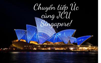 Cơ hội chuyển tiếp sang Úc cùng JCU Singapore