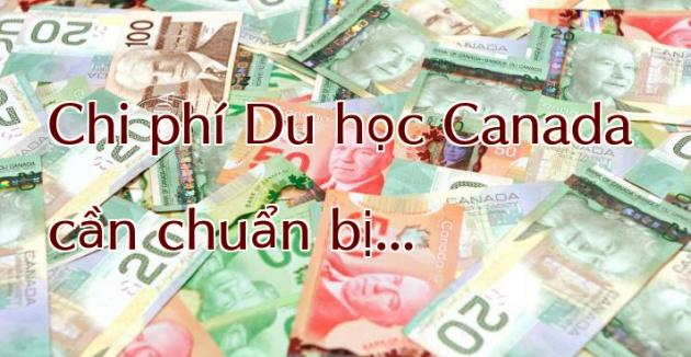 Chi phí du học Canada cần chuẩn bị