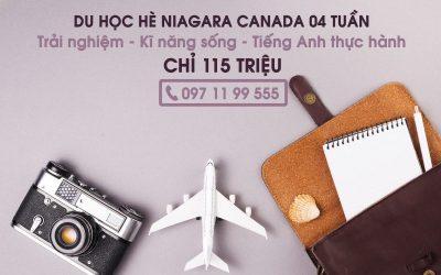 Du học hè Canada 2020: Học tiếng Anh, trải nghiệm văn hóa và tận hưởng thiên nhiên Canada với Niagara College