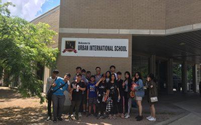 Khởi động chương trình trại hè Urban International School, Toronto, Canada 2020