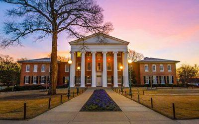 Đại học Mississippi – Top 200 trường Đại học đáng học nhất tại Mỹ