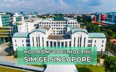 Học bổng 100% học phí khóa Cao đẳng từ học viện đào tạo hàng đầu Singapore – SIM