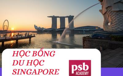 Du học Singapore cùng nhiều học bổng giá trị từ Học viện PSB