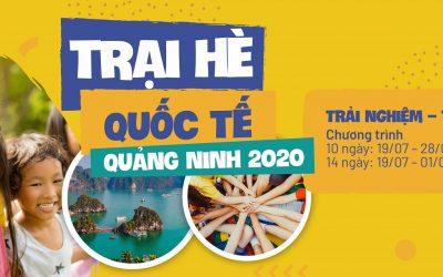 Khám phá để trưởng thành – Trại hè quốc tế Hạ Long 2020