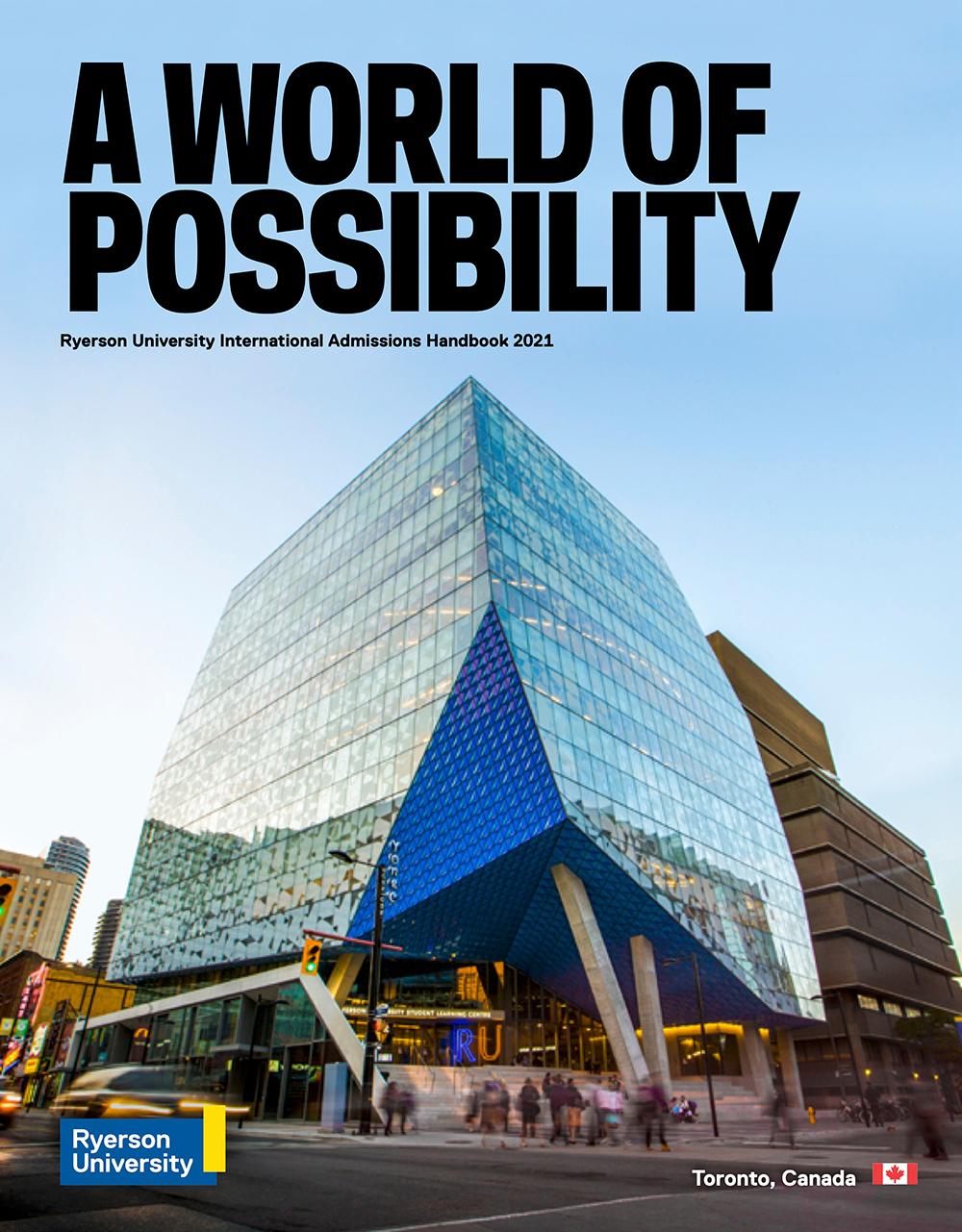 Ryerson University - Ngôi trường đại học của sự đổi mới sáng tạo số 1 tại Canada