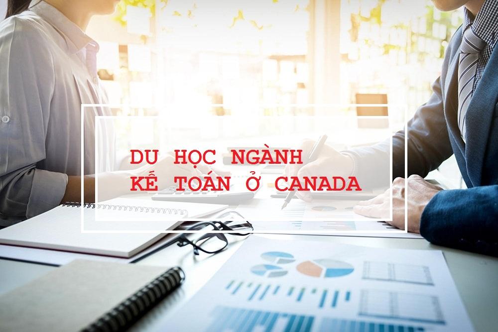 Du học ngành kế toán ở Canada