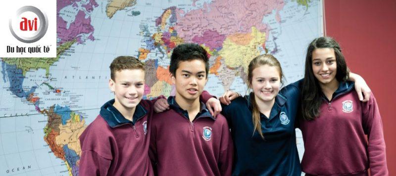Học sinh trường trung học Banksia Park