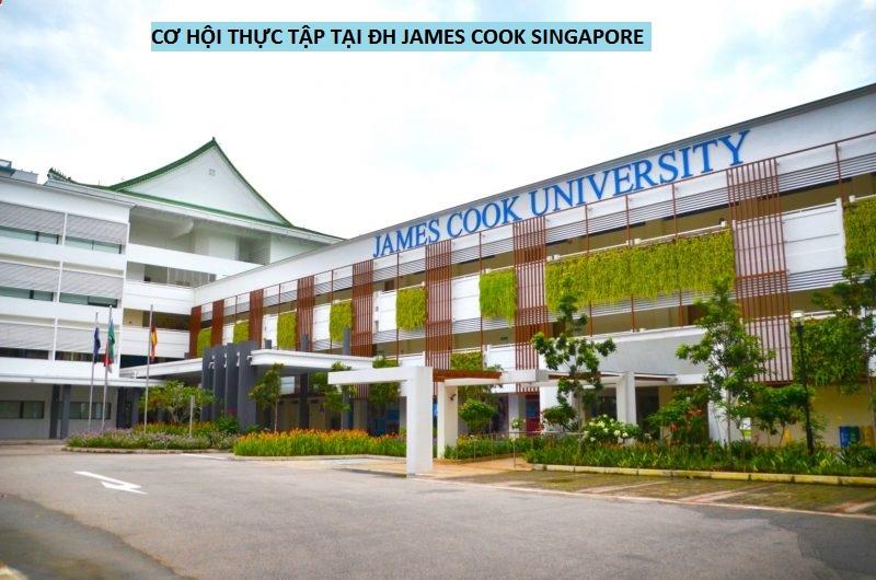 Cơ hội thực tập tại ĐH James Cook Singapore